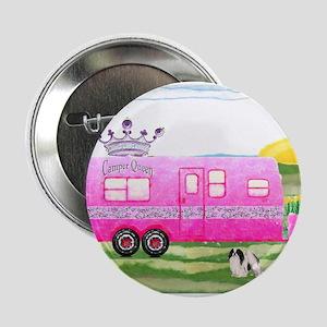 "camper travel trailer camping queen 2.25"" Button"