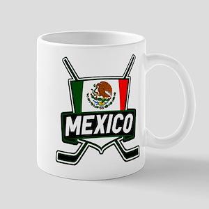 Mexico Ice Hockey Shield Mug