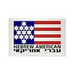Hebrew Flag Rectangle Magnet (10 pack)