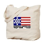 Hebrew Flag Tote Bag