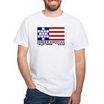 Hebrew Flag White T-Shirt