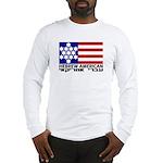 Hebrew Flag Long Sleeve T-Shirt