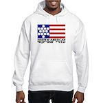 Hebrew Flag Hooded Sweatshirt
