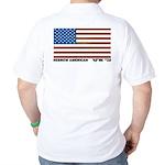 Hebrew Flag Golf Shirt