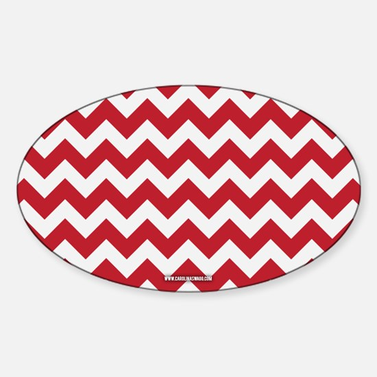 Chevron Red Decal