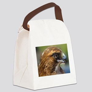 Redtail Hawk Canvas Lunch Bag