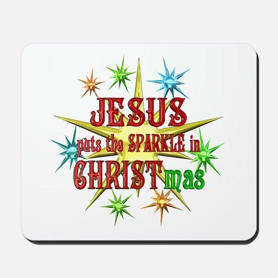 Jesus Christmas Mousepad