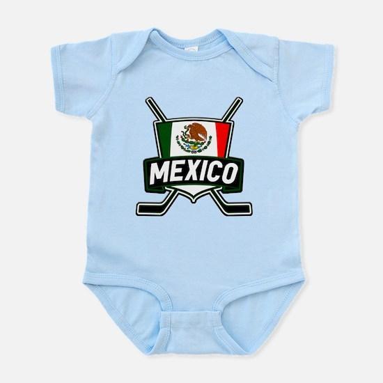 Mexico Ice Hockey Shield Body Suit