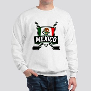 Mexico Ice Hockey Shield Sweatshirt
