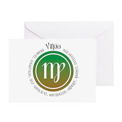 Virgo Greeting Cards (Pk of 10)