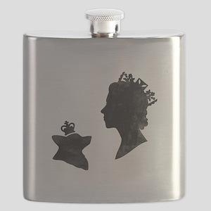 Queen and Corgi - Flask