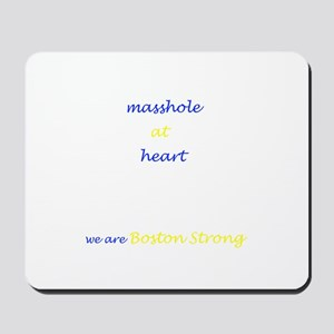 Boston Strong/Masshole Mousepad