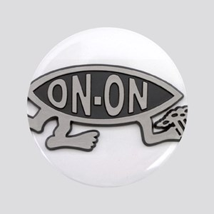 "HashFish - On-On - BW 3.5"" Button"