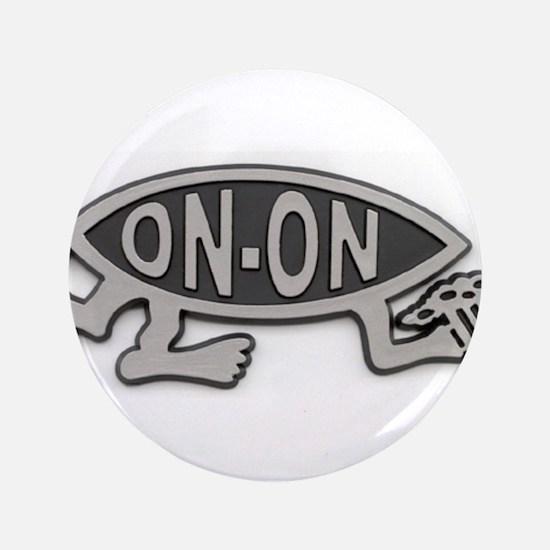 "HashFish - On-On - BW 3.5"" Button"