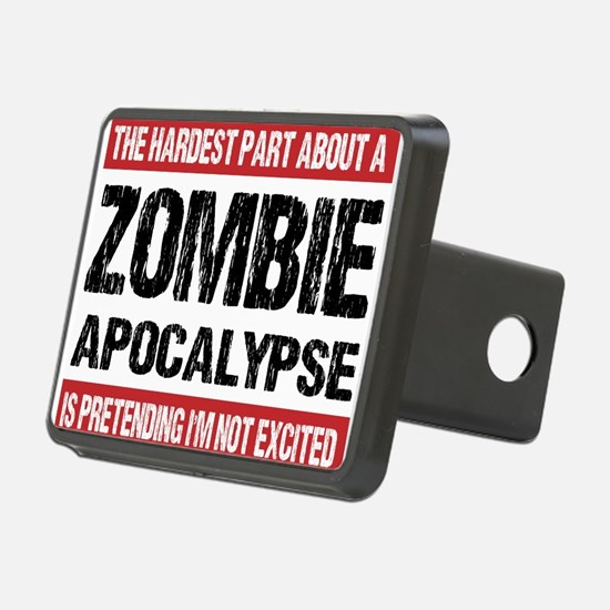 ZOMBIE APOCALYPSE - The hardest part Hitch Cover