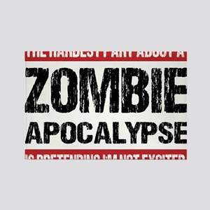 ZOMBIE APOCALYPSE - The hardest part Rectangle Mag