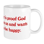 Ben Franklin Beer Quote Mug