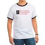 Ben Franklin Beer Quote T-Shirt
