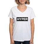 HYPER Women's V-Neck T-Shirt