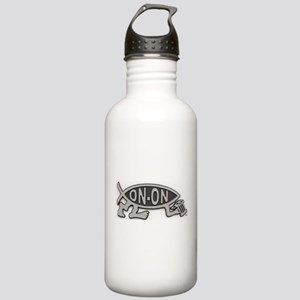 HashFish - On-On - BW Water Bottle