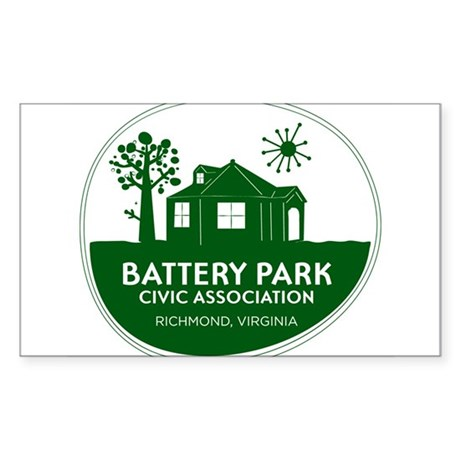 Battery Park Civic Association Sticker