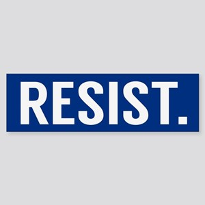 Resist Trump Anti Trump Bumper Sticker