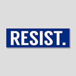 Resist Trump Anti Trump Car Magnet 10 x 3