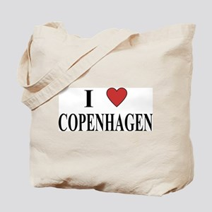 I Love Copenhagen Tote Bag
