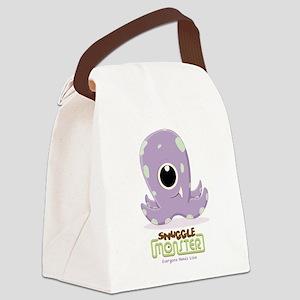Cute Kraken Canvas Lunch Bag
