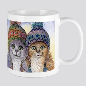 The knitwear cat sisters Mug