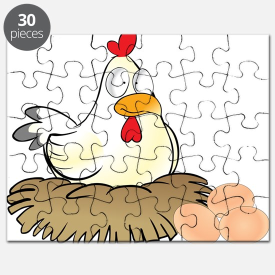 Chicken and Eggs Puzzle