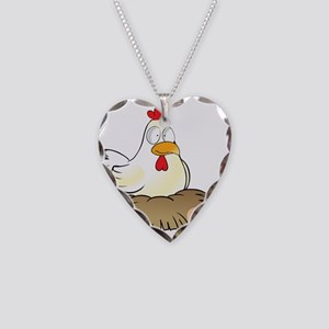 Chicken and Eggs Necklace