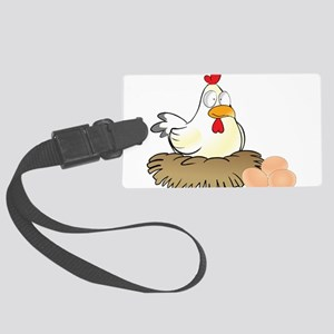Chicken and Eggs Luggage Tag