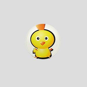 Cartoon Baby Chick-2 Mini Button