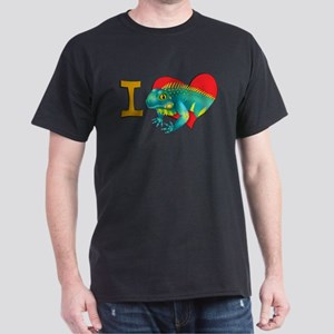 I heart iguanas Dark T-Shirt