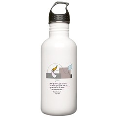 Up Where the Air is Clear Water Bottle