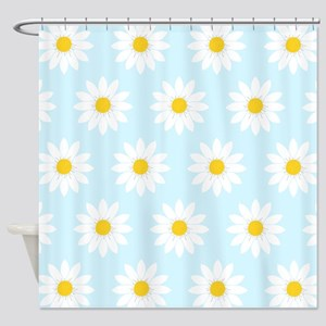 'Daisies' Shower Curtain