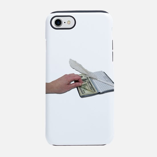 MoneyCheckbook101311.png iPhone 7 Tough Case