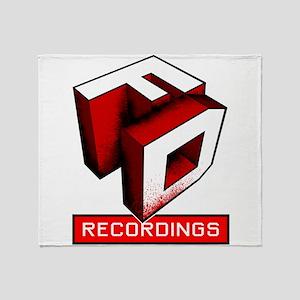 FDR Red Logo Throw Blanket
