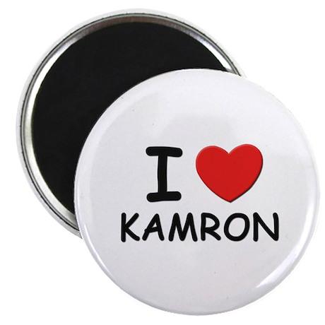 I love Kamron Magnet