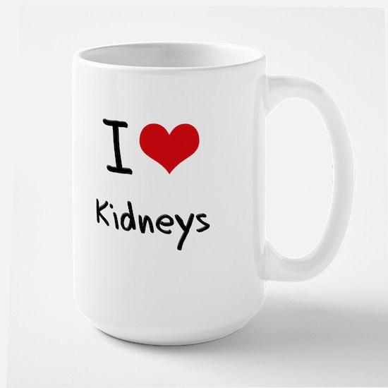 I Love Kidneys Mug