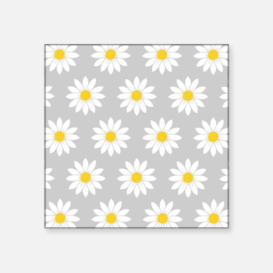 "'Daisies' Square Sticker 3"" x 3"""