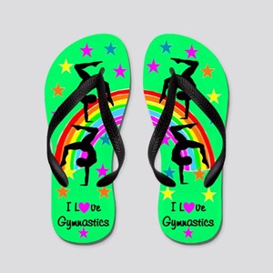 CHARMING GYMNAST Flip Flops