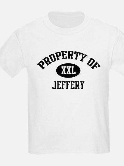 Property of Jeffery Kids T-Shirt