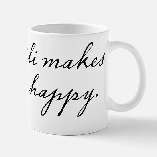 Chili makes me happy Mug