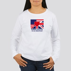 Married to an American Women's Long Sleeve T-Shirt