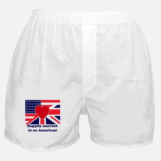Married to an American Boxer Shorts
