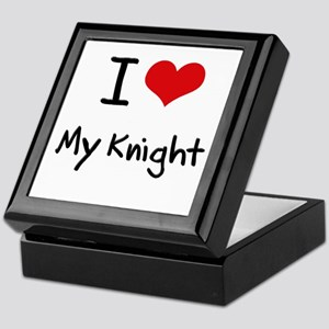 I Love My Knight Keepsake Box