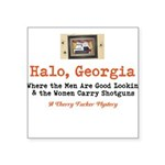 Halo, Georgia Sticker