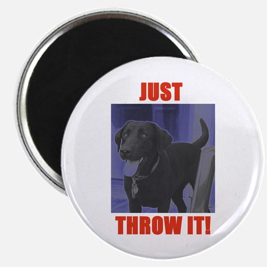 "Just Throw It 2.25"" Magnet (10 pack)"